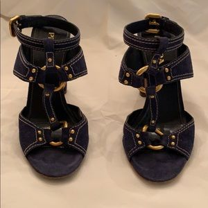Royal blue sandal
